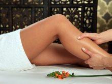massaggio drenante gambe
